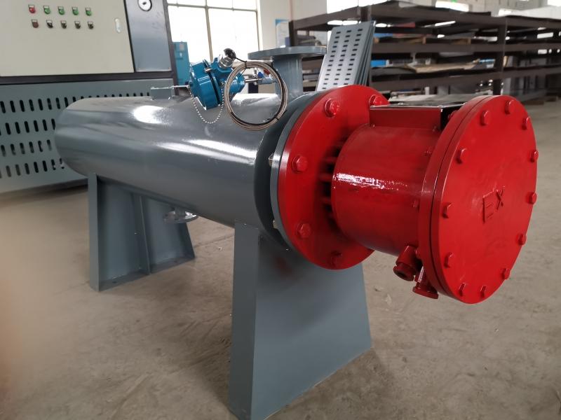 高温防爆气体管道加热器