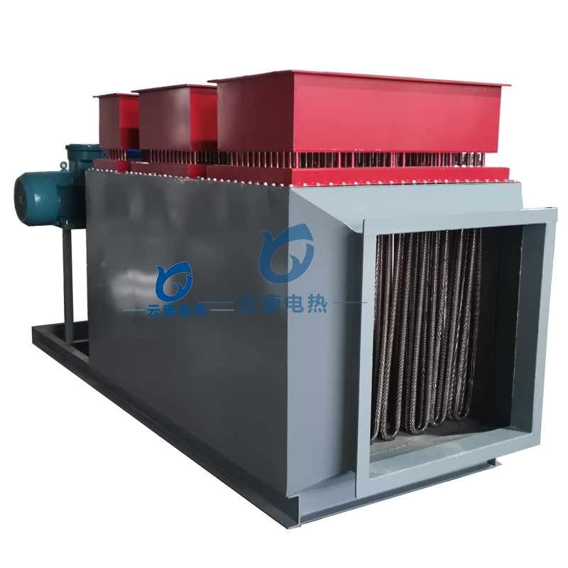 矿井井口空气加热器